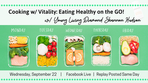 FB Live: Cooking w/ Vitality: Eating Healthy on the Go!