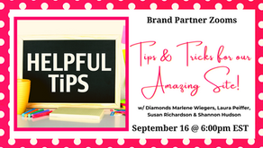 Brand Partner Zoom: Tips & Tricks for our Amazing Site!