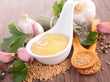 Cilantro Mustard Dip, Marinade or Dressing