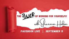 FB Live: The Power of Working for Yourself