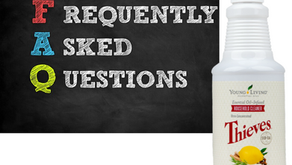 FAQ about Thieves Household Cleaner: Young Living Training and Education