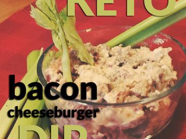 Keto Bacon Cheeseburger Dip