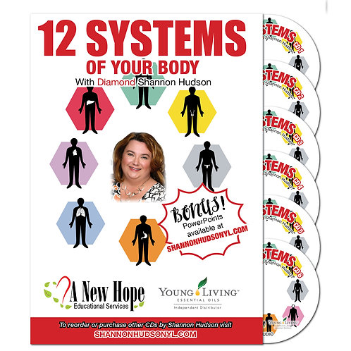 12 Systems Of Your Body Audio Series