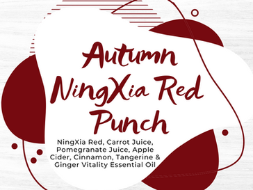 Autumn NingXia Red Punch