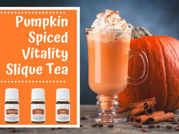 Pumpkin Spiced Vitality Slique Tea