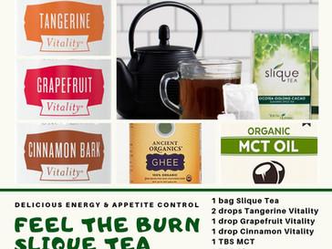 Feel the Burn Slique Tea