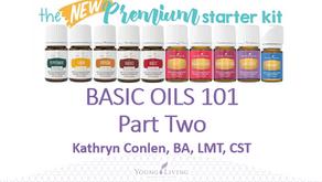 Basic Oils 101 w/ Kathryn Conlen Part Two ~ PowerPoint