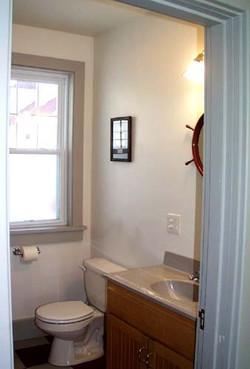 Station House half bathroom