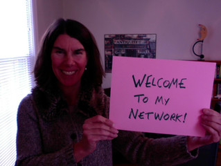 Make a Welcome Video for New People in Your Network