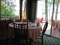 Severance Lodge Dining Room