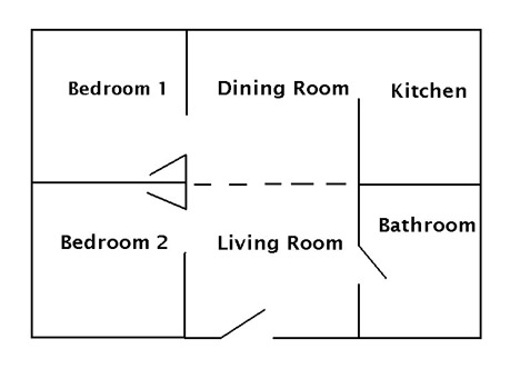 Keeper's Cottage Floor Plan