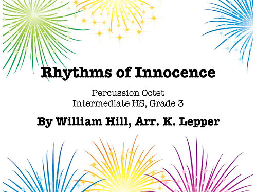 Rhythms of Innocence - Grade 3+, Octet