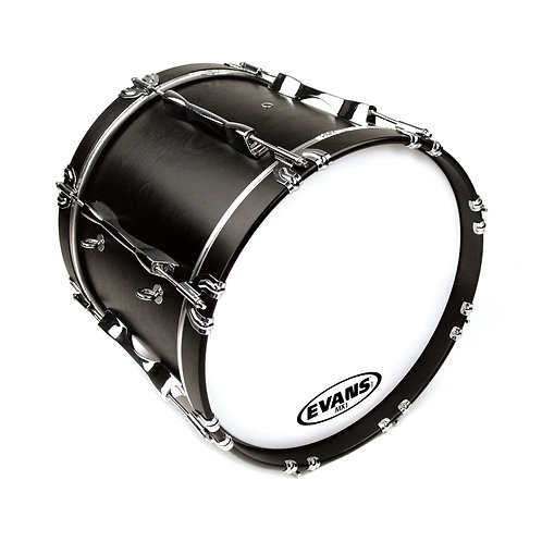 """MX Bass Drum Head 22"""" - White"""