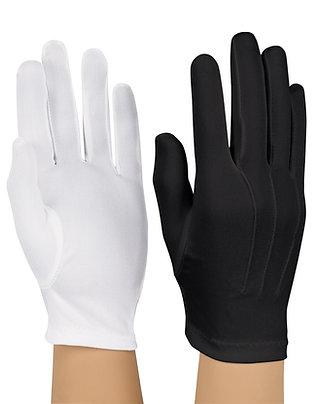 Nylon Glove Black (pr)
