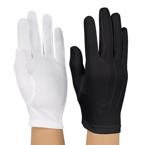 Nylon Glove Black (pr)