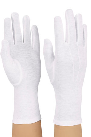 Cotton Glove - Long Wrist (pr)