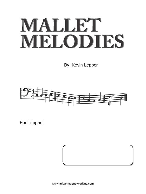 Mallet Melodies - for Timpani