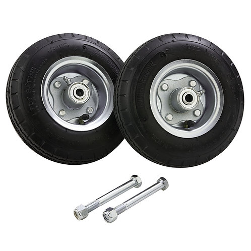 "Solid Rubber Tires 8"" - no-flat"