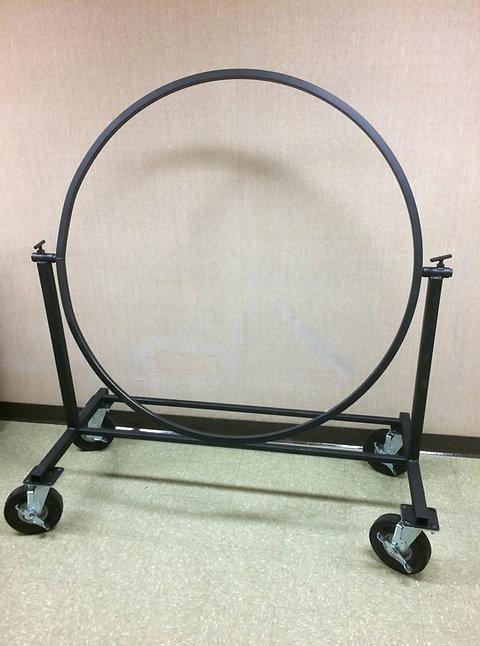 "Bass Drum Stand - 8"" no flat wheels"