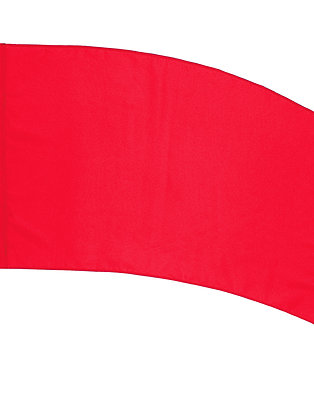 "Practice Flag PCS,  36"" x 54"" curved rectangle"