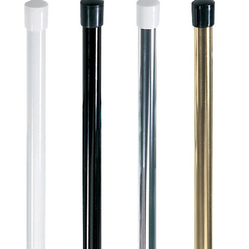 Silver, Gold, Black, White  Aluminum - 5'/5.5'/6'