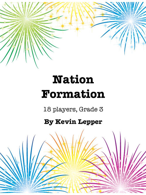 Nation Formation - Grade 3, 18 players