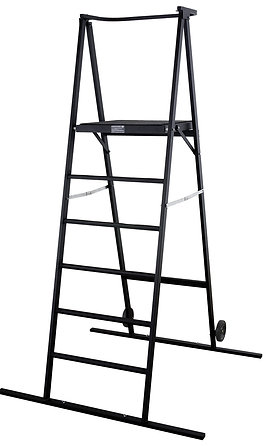 "Space Saver Podium 60"" - Black"
