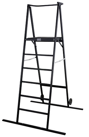 "Space Saver Podium 72"" - Black"