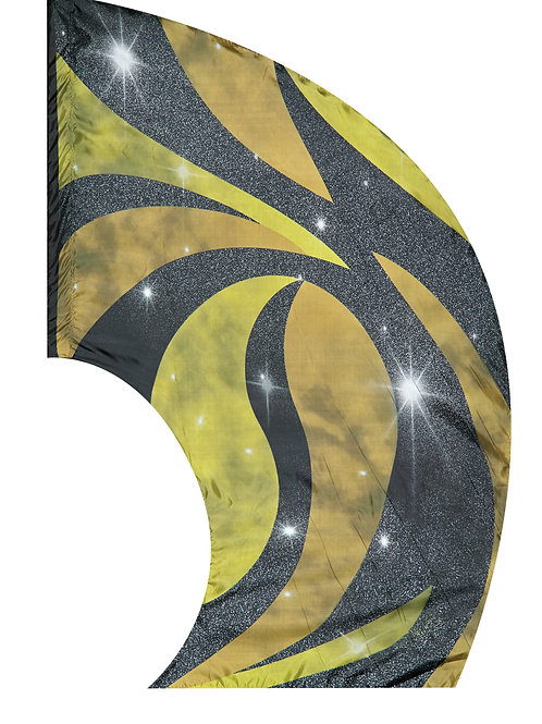 "Super Swing Aurora Flag - 44"" x 84"""