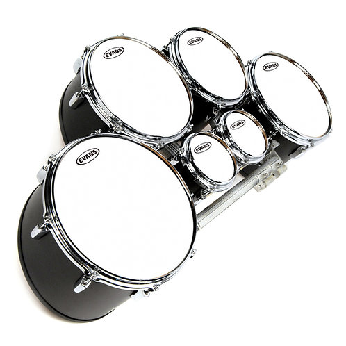 "MX Tenor Head 10"" - Frosty, Black, White"