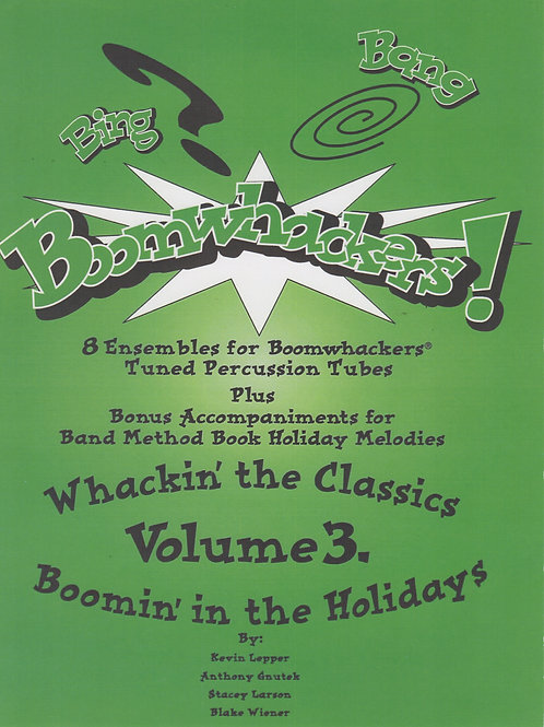 Bing, Bang, Boomwhackers Vol.3 - Grade 2
