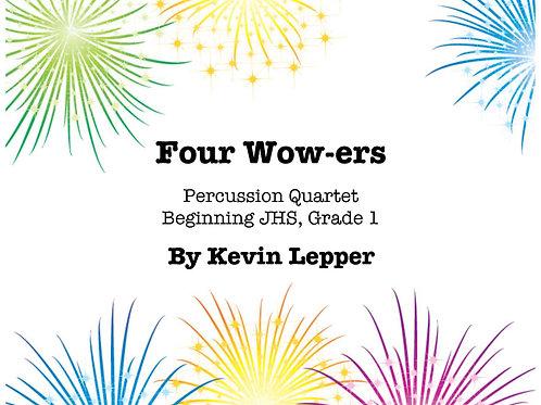Four Wow-ers - Grade 1,  Four Quartets