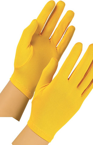Polyester Gloves, colors (pr)