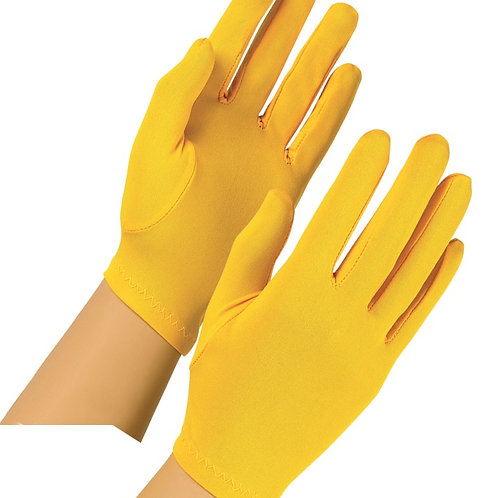Polyester Gloves, colors (pr)