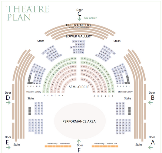 Sheldonian Theatre seating plan.png