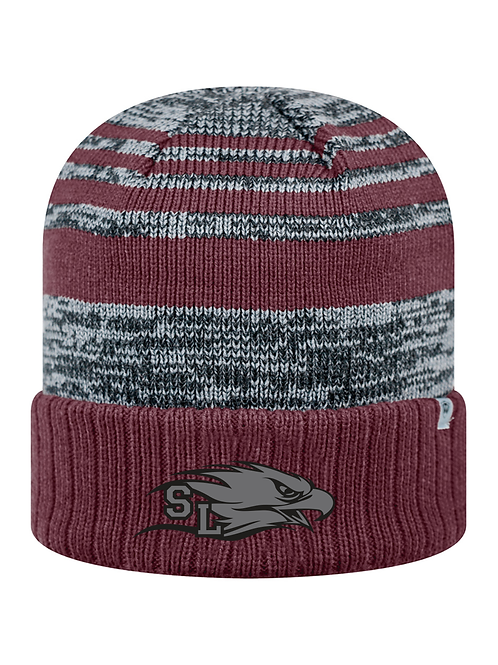 Striped Power Eagle Stocking Hat
