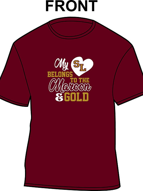 My Heart Belongs to the Maroon and Gold