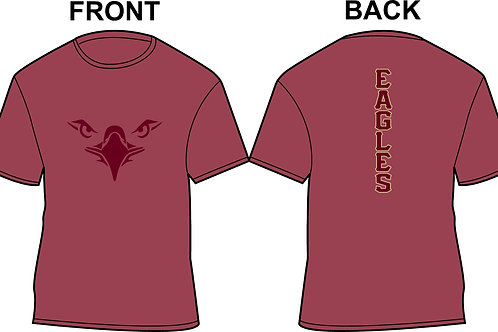 General Apparel Eagles-Heathered Maroon