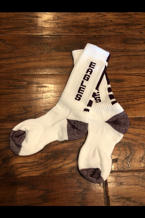 Eagles Crew Socks