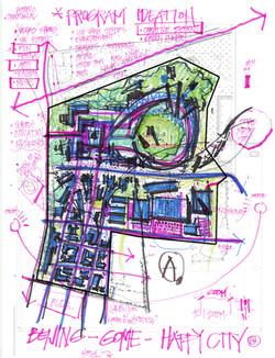 Concept Sketch | Beijing