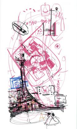 Concept Sketch | Dubai