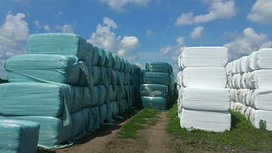 Bale Wrap for Large Square Bales Rani Wrap Pro