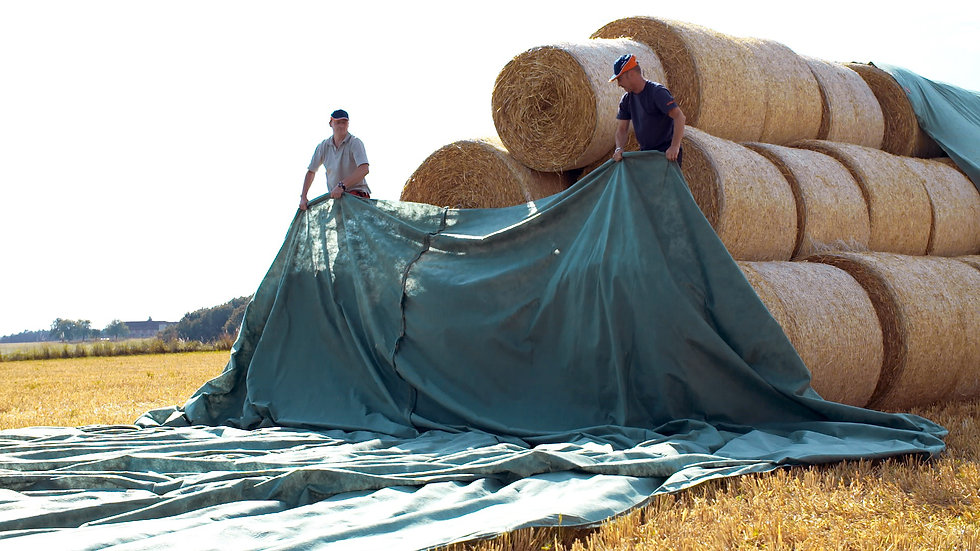 Breathable Hay Tarps from Protexia