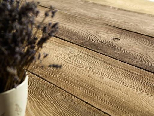 Polbruk Lira, płyty tarasowe, jak deski z litego drewna.