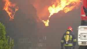 Pożar w Borucie