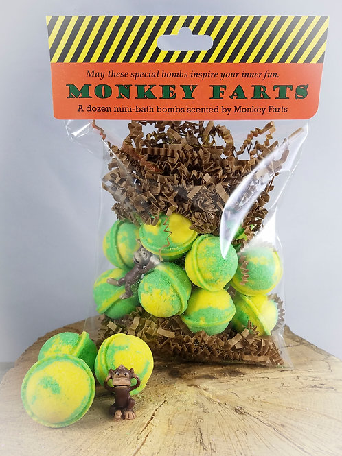 Monkey Farts - 12 (Pineapple Scented)