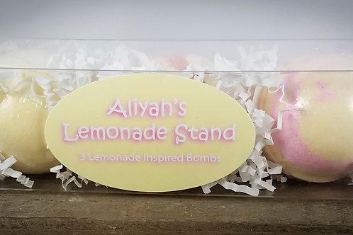 Aliyah's Lemonade Trio