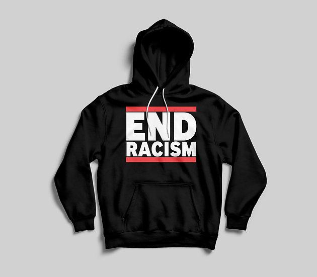 End Racism hoodie