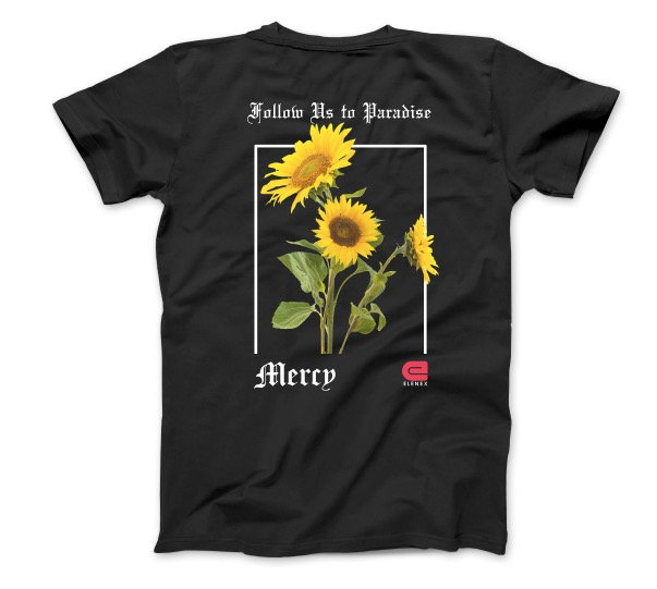Mercy Sunflower tshirt