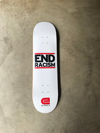 End Racism deck- white